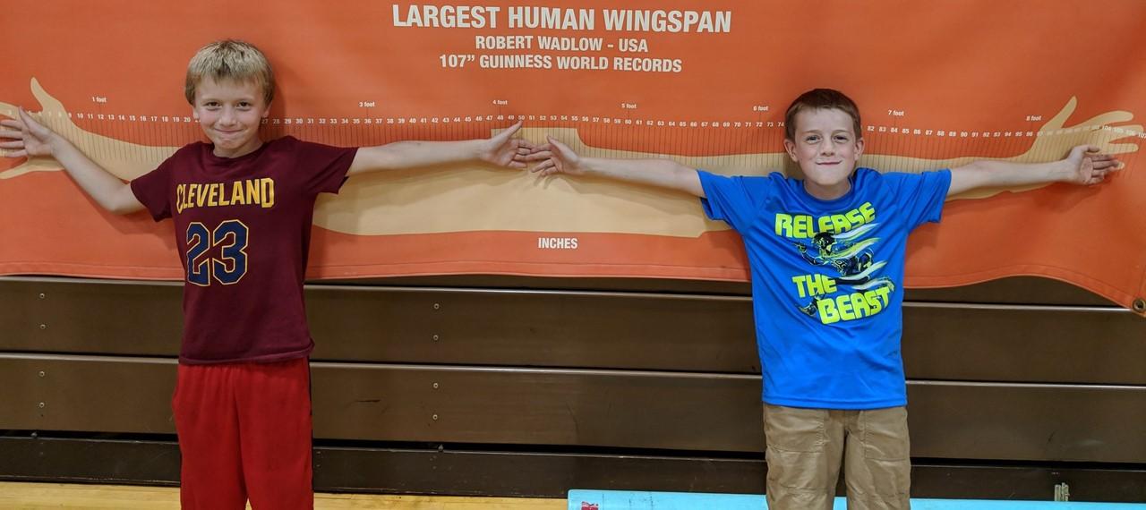 Longest Human Wingspan