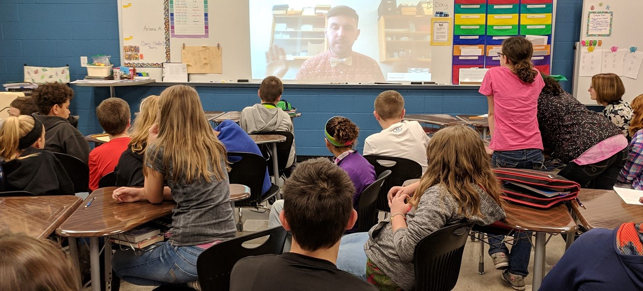 5th Grade Science Skyping