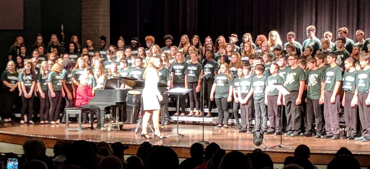 7th and 8th grade Choir Concert