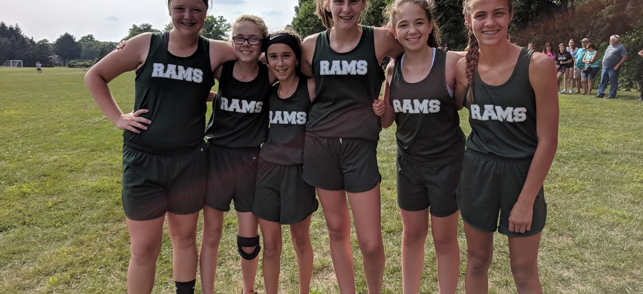 August Cross Country athletes