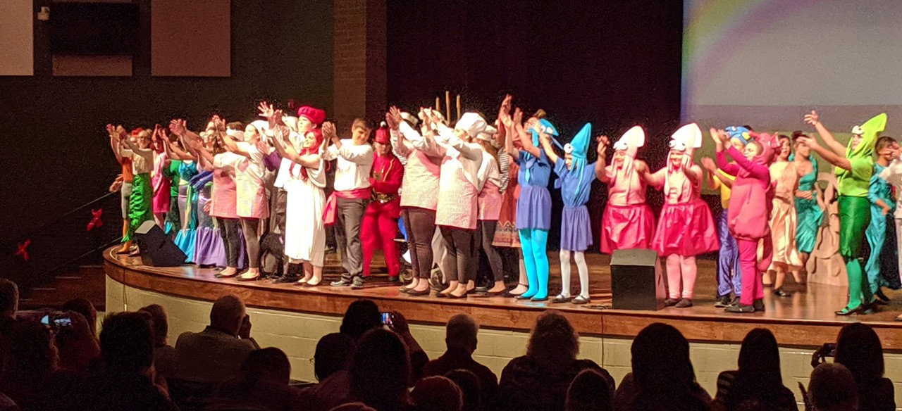 Little Mermaid Junior Musical Performance