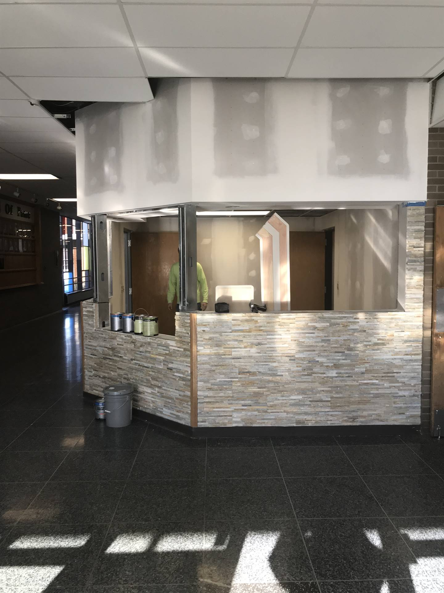 New HS reception project