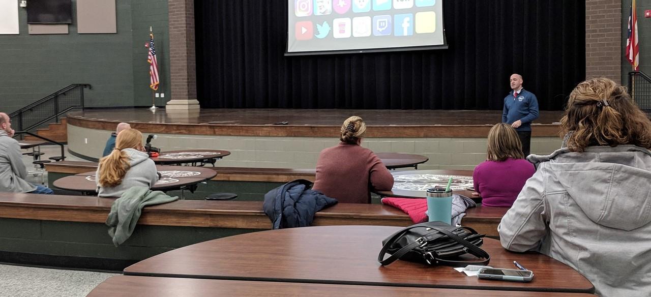 Parent presentation on internet safety