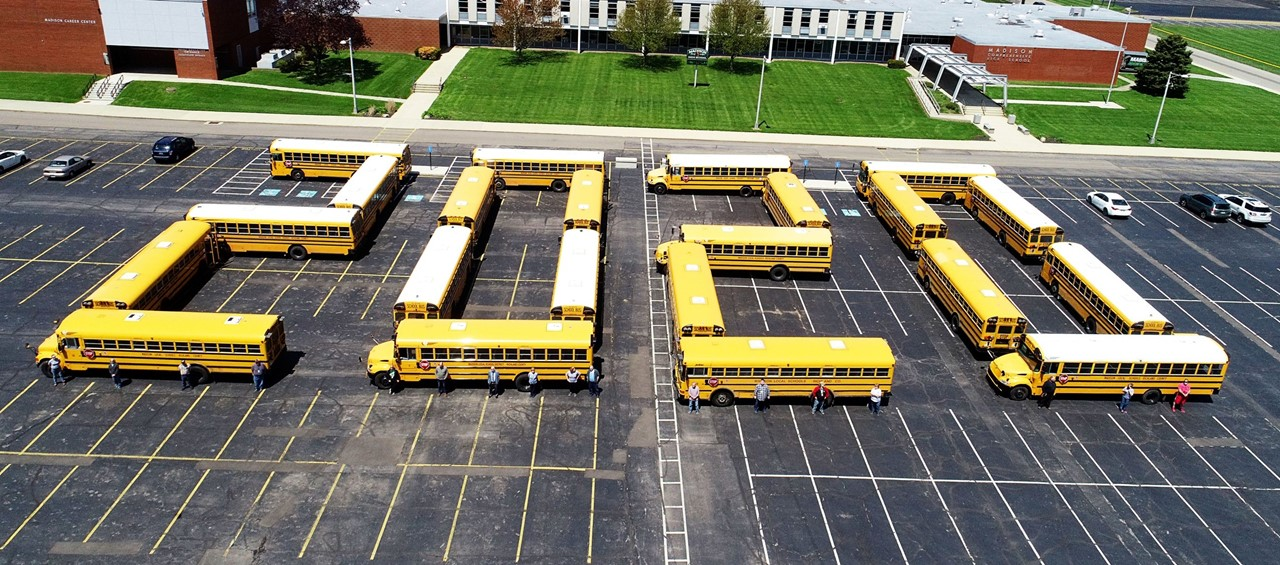 Buses formed for 2020