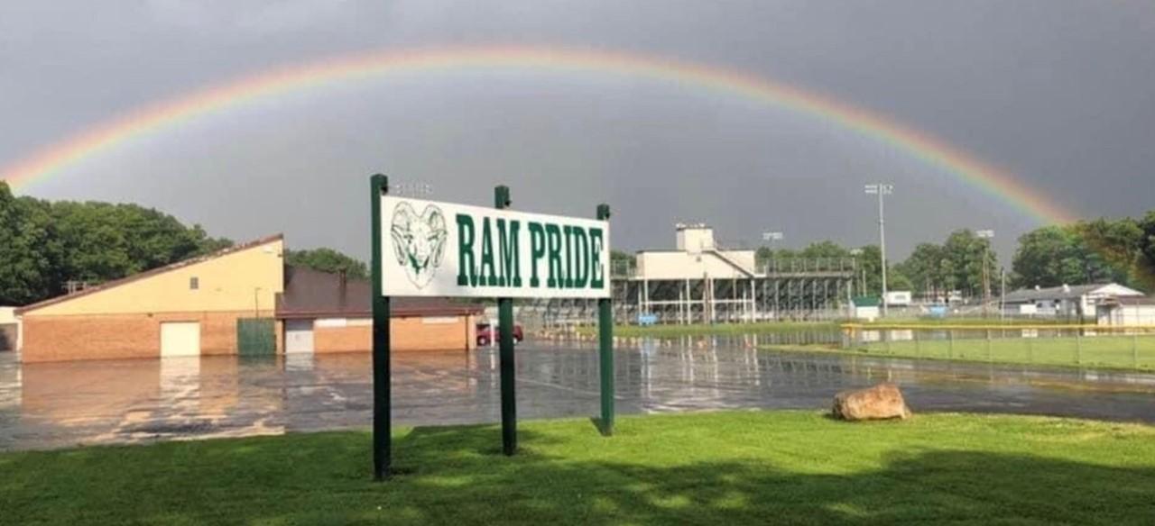 Rainbow Over Madison