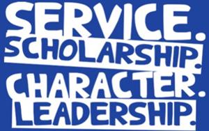 Service Scholarship Character Leadership